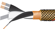 Gold Starlight 7 high end audiophile digital audio cable cutaway, best, videophile, DAC, XLR
